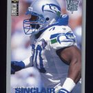 1995 Collector's Choice Player's Club #176 Michael Sinclair - Seattle Seahawks