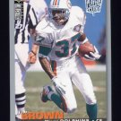1995 Collector's Choice Player's Club #165 J.B. Brown - Miami Dolphins