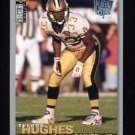 1995 Collector's Choice Player's Club #159 Tyrone Hughes - New Orleans Saints