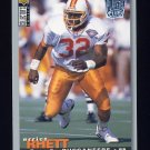 1995 Collector's Choice Player's Club #158 Errict Rhett - Tampa Bay Buccaneers