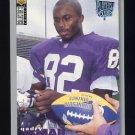 1995 Collector's Choice Player's Club #154 Qadry Ismail - Minnesota Vikings