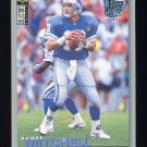 1995 Collector's Choice Player's Club #128 Scott Mitchell - Detroit Lions
