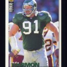 1995 Collector's Choice Football #264 Andy Harmon - Philadelphia Eagles