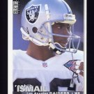 1995 Collector's Choice Football #258 Rocket Ismail - Oakland Raiders