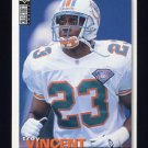 1995 Collector's Choice Football #221 Troy Vincent - Miami Dolphins