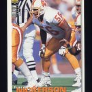 1995 Collector's Choice Football #214 Hardy Nickerson - Tampa Bay Buccaneers