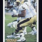 1995 Collector's Choice Football #187 Willie Roaf - New Orleans Saints