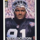 1995 Collector's Choice Football #174 Chester McGlockton - Oakland Raiders