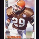 1995 Collector's Choice Football #169 Eric Turner - Cleveland Browns