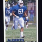1995 Collector's Choice Football #164 Trev Alberts - Indianapolis Colts