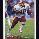 1995 Collector's Choice Football #153 Reggie Brooks - Washington Redskins