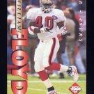 1995 Collector's Edge Football #176 William Floyd - San Francisco 49ers