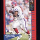 1995 Classic NFL Experience Football #009 Thurman Thomas - Buffalo Bills