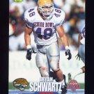 1995 Classic NFL Rookies Football #061 Bryan Schwartz - Jacksonville Jaguars