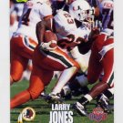 1995 Classic NFL Rookies Football #056 Larry Jones - Washington Redskins