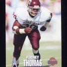 1995 Classic NFL Rookies Football #055 Rodney Thomas - Houston Oilers