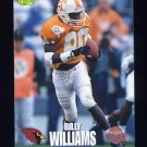 1995 Classic NFL Rookies Football #047 Billy Williams - Arizona Cardinals