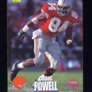 1995 Classic NFL Rookies Football #030 Craig Powell - Cleveland Browns