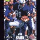 1995 Classic NFL Rookies Football #009 Kyle Brady - New York Jets