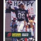 1994 Superior Rookies Football #38 Carlester Crumpler - Seattle Seahawks
