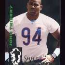 1994 Select Football #215 John Thierry RC - Chicago Bears