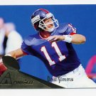 1994 Pinnacle Football #005 Phil Simms - New York Giants