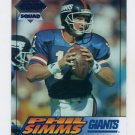 1994 Collector's Edge Silver #133 Phil Simms - New York Giants