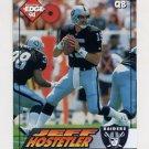 1994 Collector's Edge Football #101 Jeff Hostetler - Los Angeles Raiders