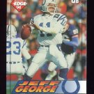 1994 Collector's Edge Football #091 Jeff George - Indianapolis Colts