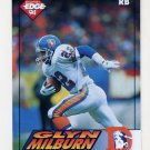 1994 Collector's Edge Football #052 Glyn Milburn - Denver Broncos