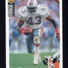 1994 Collector's Choice Football #141 Terry Kirby - Miami Dolphins