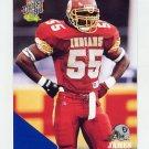 1994 Classic Football #079 James Folston - Los Angeles Raiders