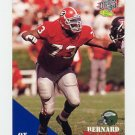 1994 Classic Football #075 Bernard Williams - Philadelphia Eagles