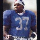 1994 Bowman Football #265 James Washington - Dallas Cowboys