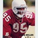 1994 Bowman Football #009 Jamir Miller RC - Arizona Cardinals