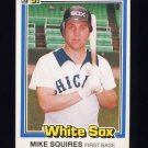 1981 Donruss Baseball #398 Mike Squires - Chicago White Sox