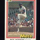 1981 Donruss Baseball #036 Roy Jackson - New York Mets