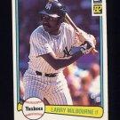1982 Donruss Baseball #614 Larry Milbourne - New York Yankees