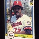 1982 Donruss Baseball #571 Gary Ward - Minnesota Twins