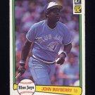 1982 Donruss Baseball #306 John Mayberry - Toronto Blue Jays