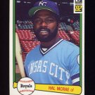 1982 Donruss Baseball #196 Hal McRae - Kansas City Royals