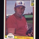 1982 Donruss Baseball #068 Woodie Fryman - Montreal Expos