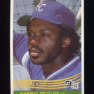 1984 Donruss Baseball #344 Darryl Motley - Kansas City Royals