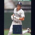 1996 Donruss Baseball #385 Rich Amaral - Seattle Mariners