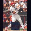 1996 Donruss Baseball #375 Juan Gonzalez - Texas Rangers