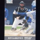 1991 Ultra Update #016 Ron Karkovice - Chicago White Sox