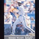 1991 Ultra Baseball #372 Mookie Wilson - Toronto Blue Jays