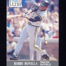 1991 Ultra Baseball #276 Bobby Bonilla - Pittsburgh Pirates