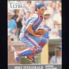 1991 Ultra Baseball #201 Mike Fitzgerald - Montreal Expos