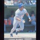 1991 Ultra Baseball #162 Lenny Harris - Los Angeles Dodgers